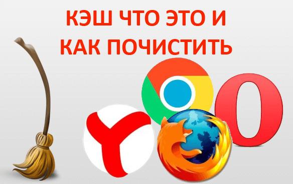 Кэш что это такое и как почистить кэш браузера Google Chrome, Яндекс, Mozilla Firefox, Опера